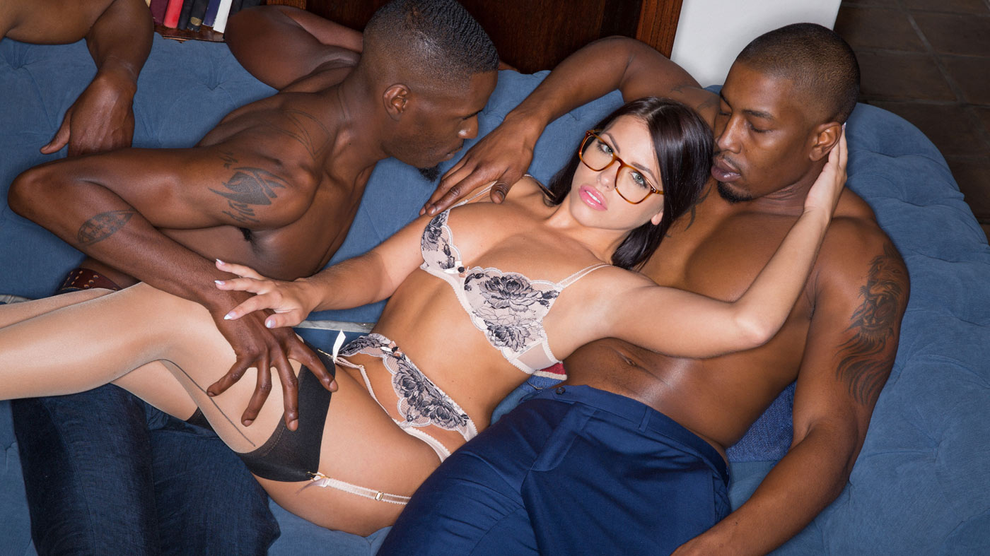Adriana Chechik – Brunette Babe Takes Trio of BBCs