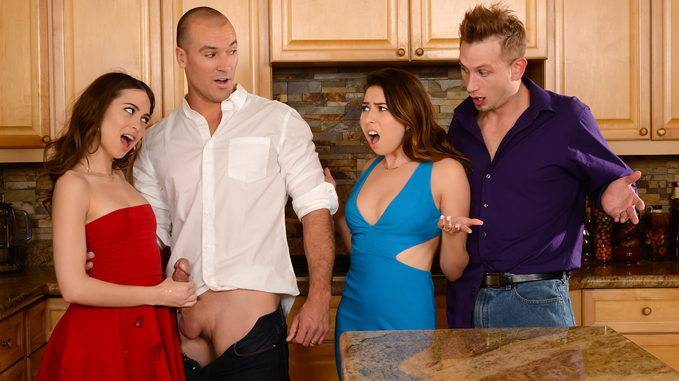 Dinner For Sluts – Melissa Moore – Riley Reid – Bill Bailey