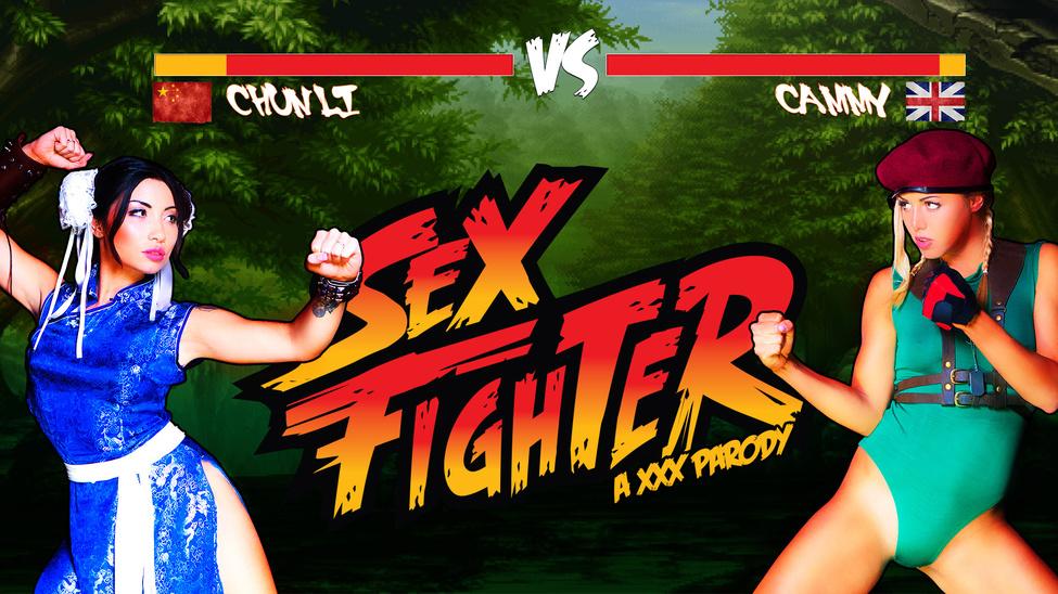 Sex Fighter Chun Li vs. Cammy – Christen Courtney – Rina Ellis