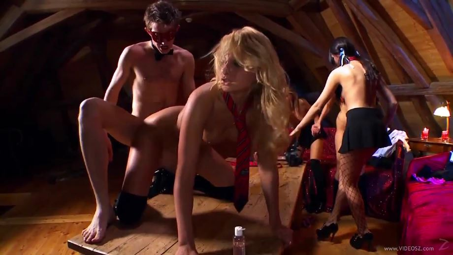 Young Harlots Dirty Business – Scene 3 – Megan Coxxx – Zuzana Z – Nataly Von