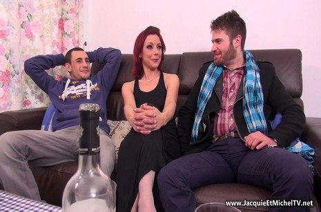 HD Porn Morgane partouze avant de repartir à Nice – JacquieEtMichelTV