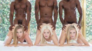 Preppy Girl Threesome Get Three BBCs – Elsa Jean – Rachel James – Sydney Cole