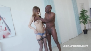 Black Buster, Ginger Fox gets gapes non stop with Mike Chapman – Ginger Fox