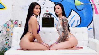 Adria And Marley Team Up – Adria Rae – Marley Brinx