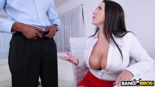 Busty Angela Takes A BBC In Her Ass – Angela White
