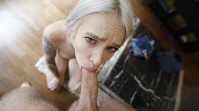 First Date Sex Video of Tattooed Blonde Beauty Met On Snapchat – Arteya
