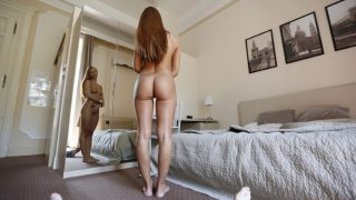 Holiday Date Slam With Sultry Redhead Beauty – Ornella