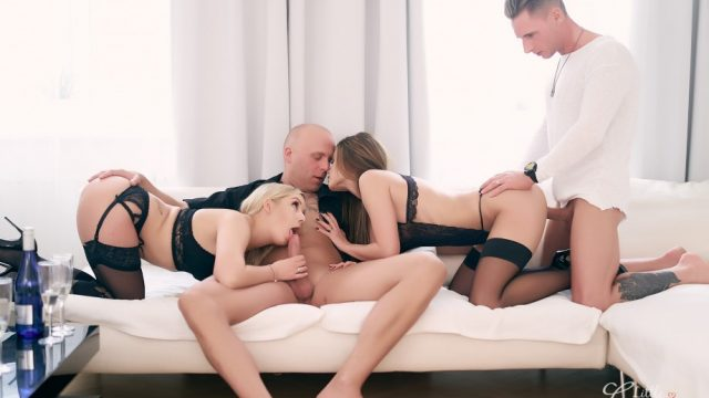 WeCumToYou Part 4 – Meeting in Vienna – Lena Nitro – Little Caprice
