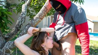 Getting Man Handled By A Horny Thief – Alex Blake