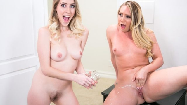 The Squirting Contest – AJ Applegate – Cadence Lux