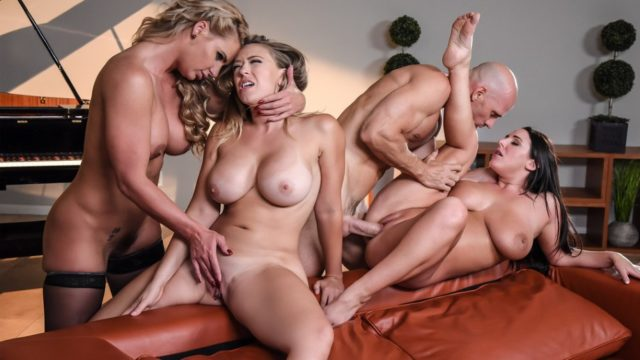 Dinner For Cheats – Angela White – Kagney Linn Karter – Phoenix Marie