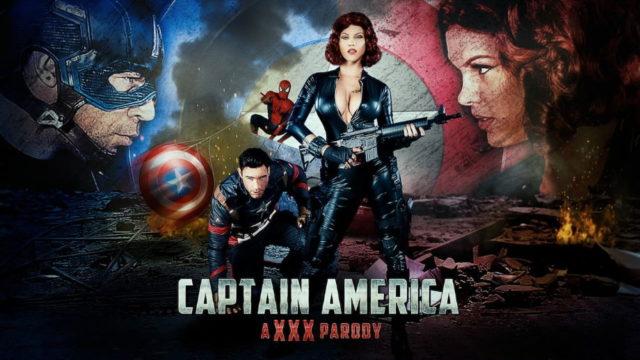 Captain America A XXX Parody – Peta Jensen