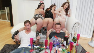 New Years Eve Party – Eden Sinclair – Joseline Kelly – Lily Adams