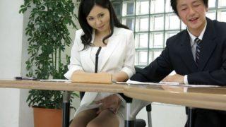 Sucks cock during the news – Miyuki Ojima
