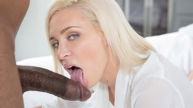 Preppy Blonde Girlfriend Cheats with BBC – Kacey Jordan
