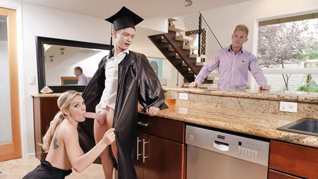 Cap And Gown Dick Down – Kenzie Taylor